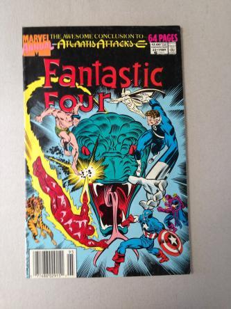 Fantastic Four Comic Issue 22 1989