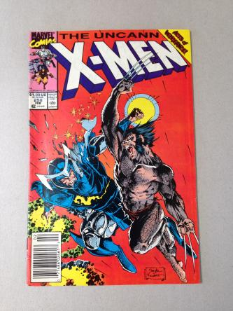 The Uncanny X-Men Comic Issue 258 February 1990