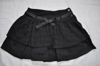 Black Layered Skirt - Size 10 - RRP $23.00