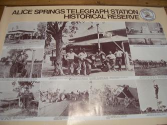 Poster of Alice Springs Telegraph Station