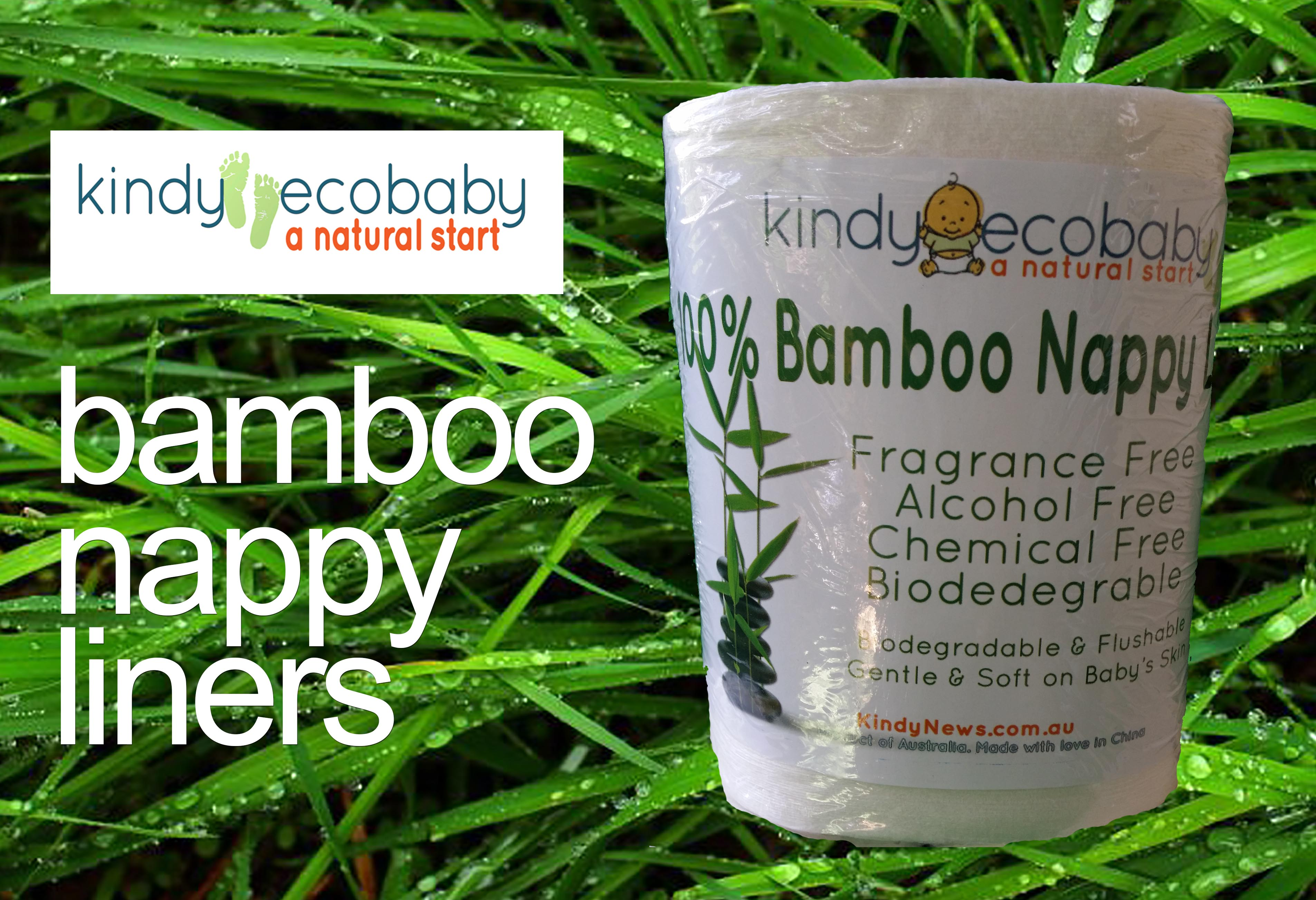 Swapmeet 400 Pack Bamboo Flushable Liners Nappy Insert